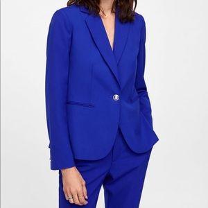 Royal blue Zara XS Blazer